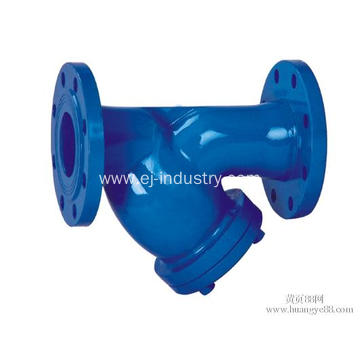 Ductile Iron Flange End Strainer