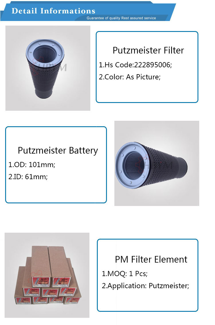 pm filter element