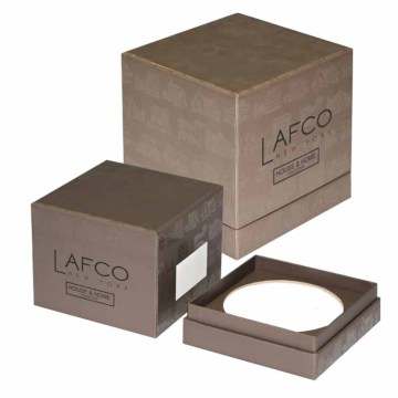 Groove Shape High-end Candle Boxes