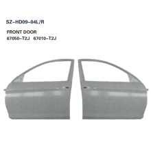 Steel Body Autoparts Honda 2014 Accord FRONT DOOR