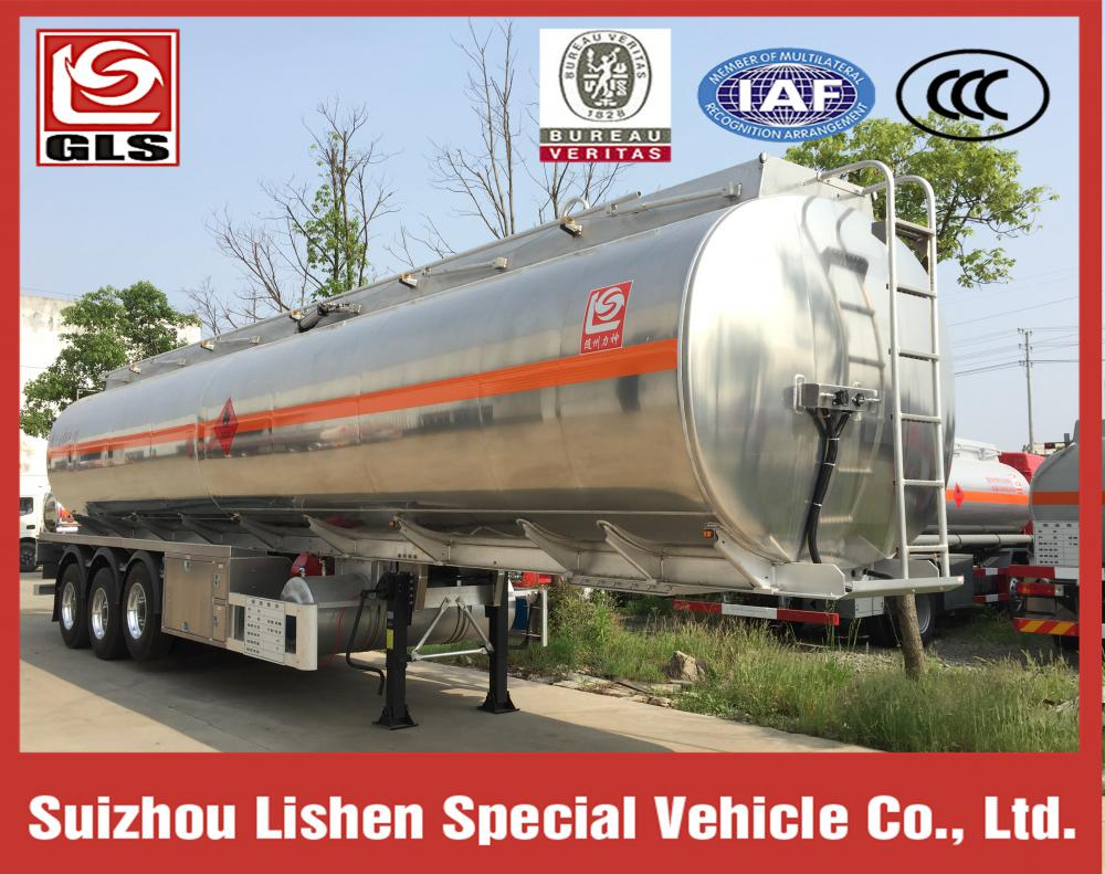 42000L Aluminium Alloy Fuel Tank Semi-Trailer
