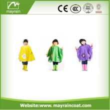 Pretty PU Children Rain Cape Kids Poncho