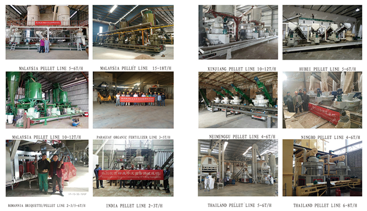 Wood Pellet Machine Production Line