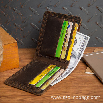 Mens RFID Blocking Bifold Slim Minimalist Pocket Wallet
