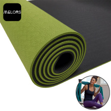 ODM for Tpe Yoga Mat Melors TPE Fitness Yoga Mat Exercise Mat export to India Factory