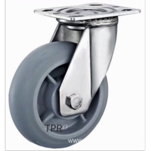 4  inch Stainless steel bracket  PS  heavy  casters without brakes
