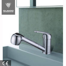 Good Quality for Pull Down Kitchen Faucet Chrome kitchen sink tap pull out kitchen faucet export to Indonesia Factories