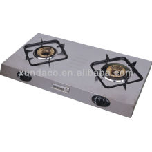 2 Burner Super Slim Stainless Steel Gas Cooker