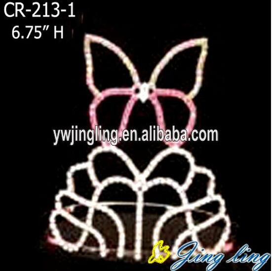 Butterfly Shape Easter Pageant Crowns