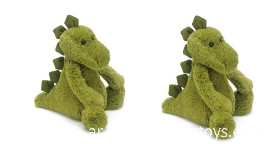 Green Dinosaur Plush Toys