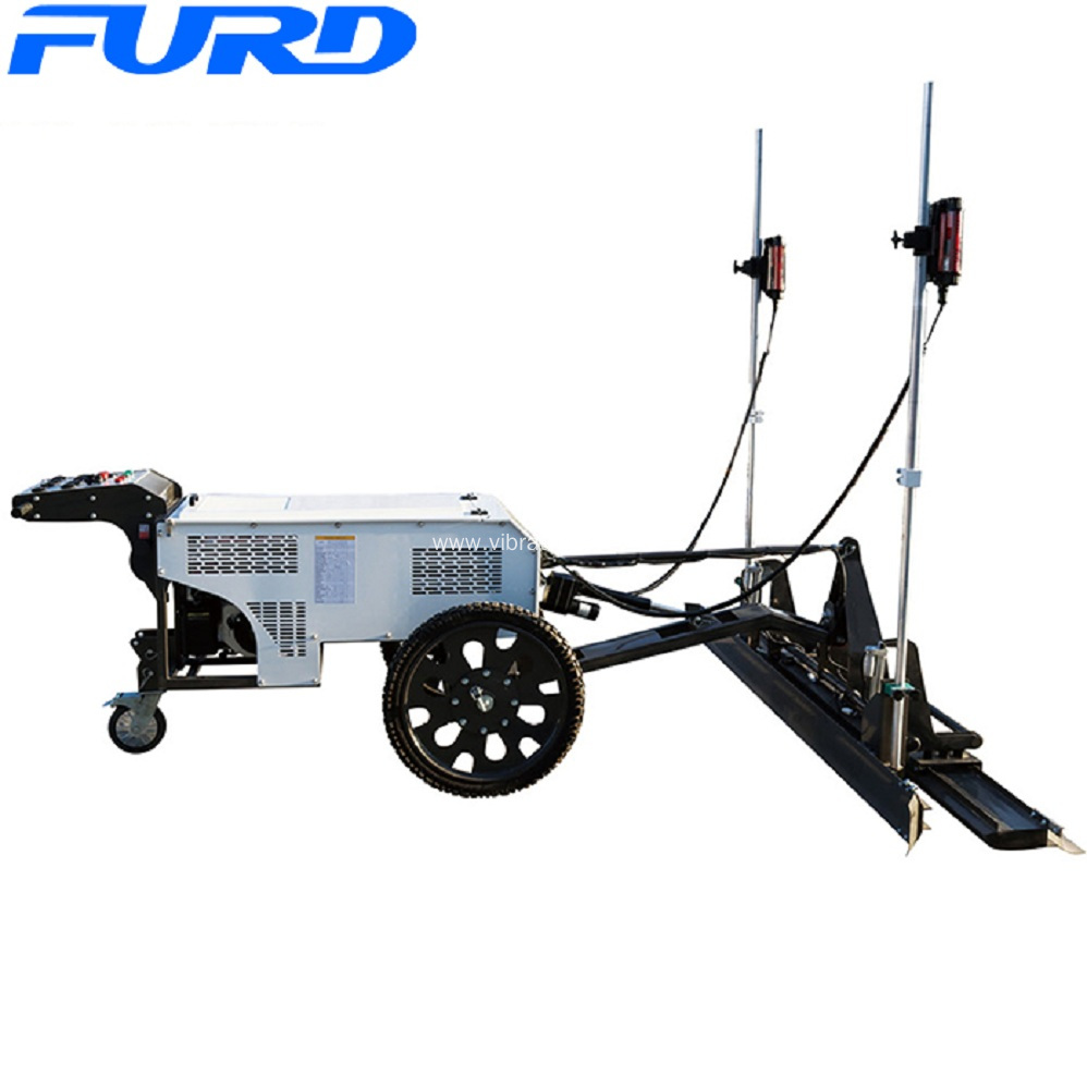 Construction Machinery Vibrating Concrete Laser Screed