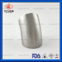 Sanitary Long Radius weld elbow polished