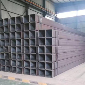 Good Quality for Galvanized Square Steel Pipe 100X200mm Seamless Hot Roller Steel Rectangular Tube supply to Guinea-Bissau Manufacturers