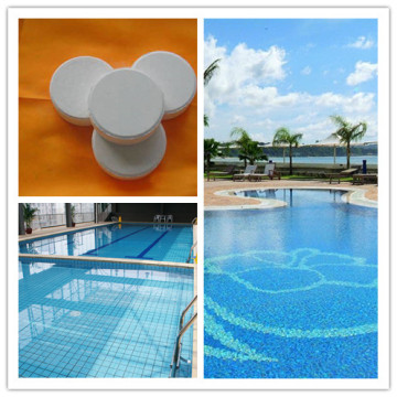 TCCA for swimming pool water treatment