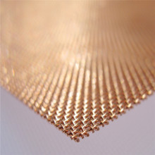 Cheap for Knitted Copper Mesh 99.9% Brass Copper Wire Mesh Screen supply to France Metropolitan Manufacturer