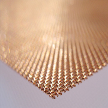 99.9% Brass Copper Wire Mesh Screen