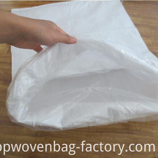 sugar bag with liner
