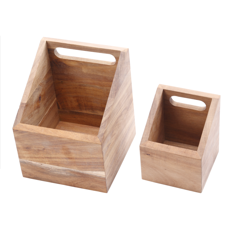 Wooden Utensil Holder