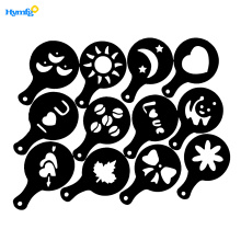 16pcs Coffee Cappuccino Chocolate Sprinkle Stencils Template