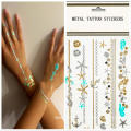 Glitter Shimmer Waterproof Temporary Tattoo Stickers