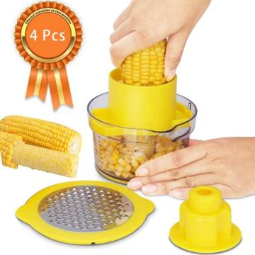 Corn Stripper Thresher Built-In Measuring Cup