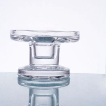 Glass Clylinder Taper Holder Candle Holder