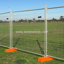 Hot Dip galvanized temporary fence Australian AS 4687-2007