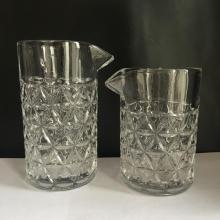 Seamless Cocktail Mixing Glass With The Mouth Cup