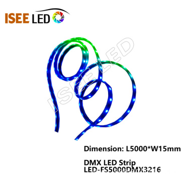 Best Price for for Dmx Led Strip Full Color RGB LED DMX512 Rope Lights export to United States Exporter