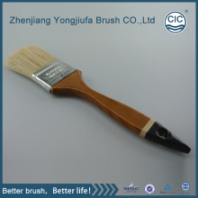 China for Plastic Handle Bristle Paint Brush Cheap White hog Bristle Wooden Handle paint Brushes supply to Cambodia Factories
