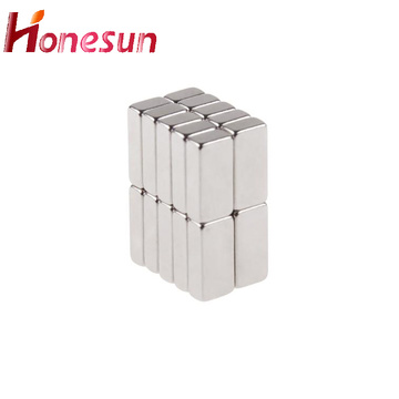 Customized Permanent NdFeB Block Magnet