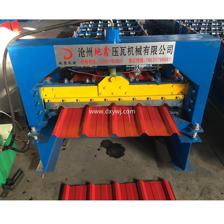 Roofing Sheet Metal Roll Forming Machine