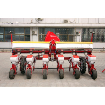 Agro air-suction precision 6 row seeders with fertilizer