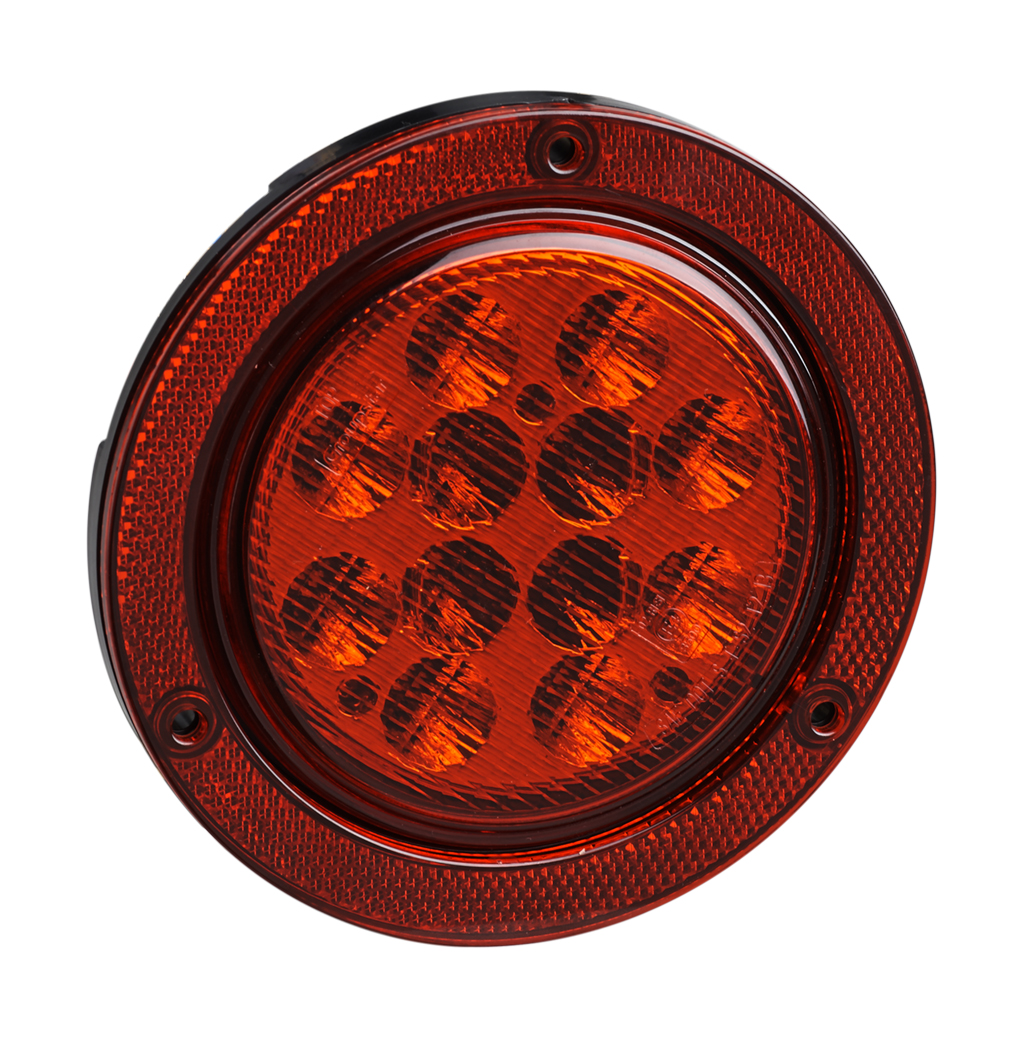 LED Round Trailer Tail Lamps