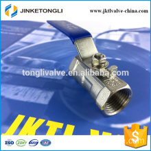 JKTL1B027 remote control 1pc spring return cast iron 3d ball valve