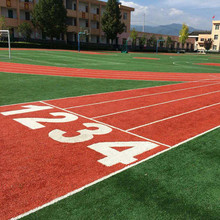 Discountable price for Students Sport Stadium Football Grass Customized W Shape Football Field Artificial Grass supply to Georgia Supplier