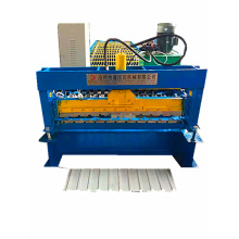 Trapezoidal roof panel aluminium roll forming machine
