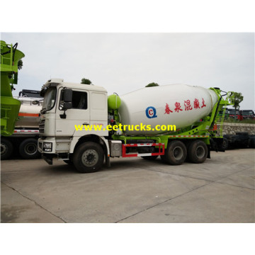 SHACMAN 6x4 10ton Cement Mixer Trucks