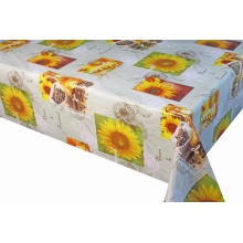 Pvc Printed fitted table covers Square