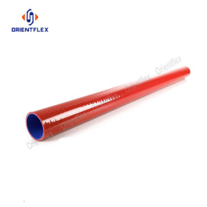 Flexible 1m straight silicone rubber hose