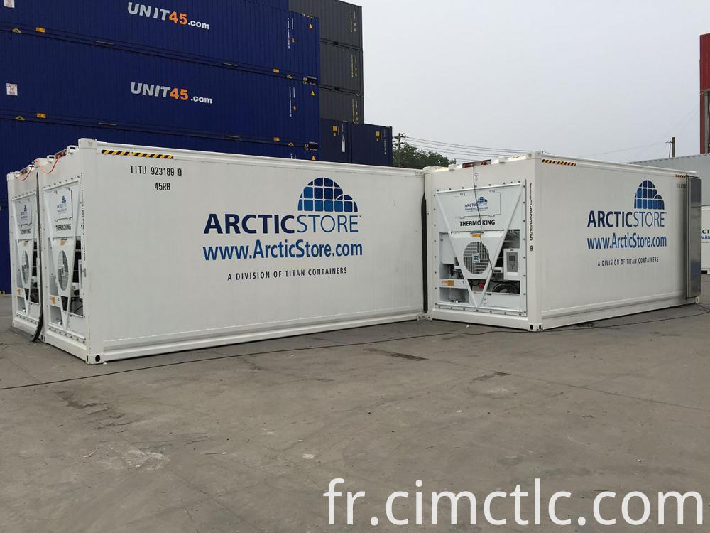 Combined Cold Storage Container