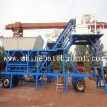 China for Portable Concrete Mix Plant 40 Wet Construction Mobile Concrete Plant supply to Cocos (Keeling) Islands Factory