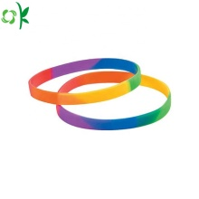 Fashion Colorful Customized Silicone Bracelet Wholesale