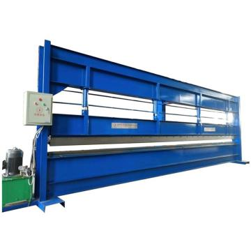 Color steel sheet cold bending roll forming machine