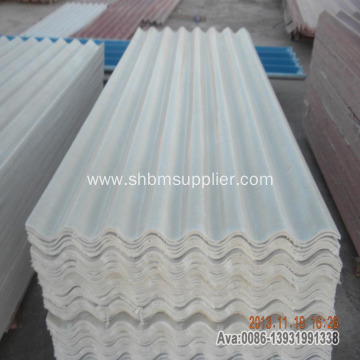 Non-asbestos Fire-proof Glazed MgO Roof Tiles Price