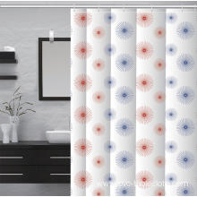 Crate and Barrel Waterproof Bathroom printed Shower Curtain