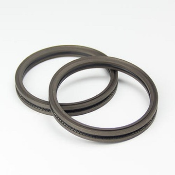 Radial shaft seals with PTFE seals