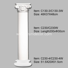 PU Columns with Smooth Surface