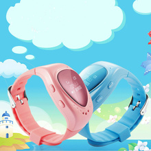 Voice Monitoring Smart Kids GPS Watch Locator