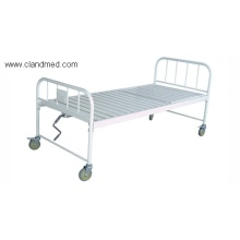 Spray double-folding bed